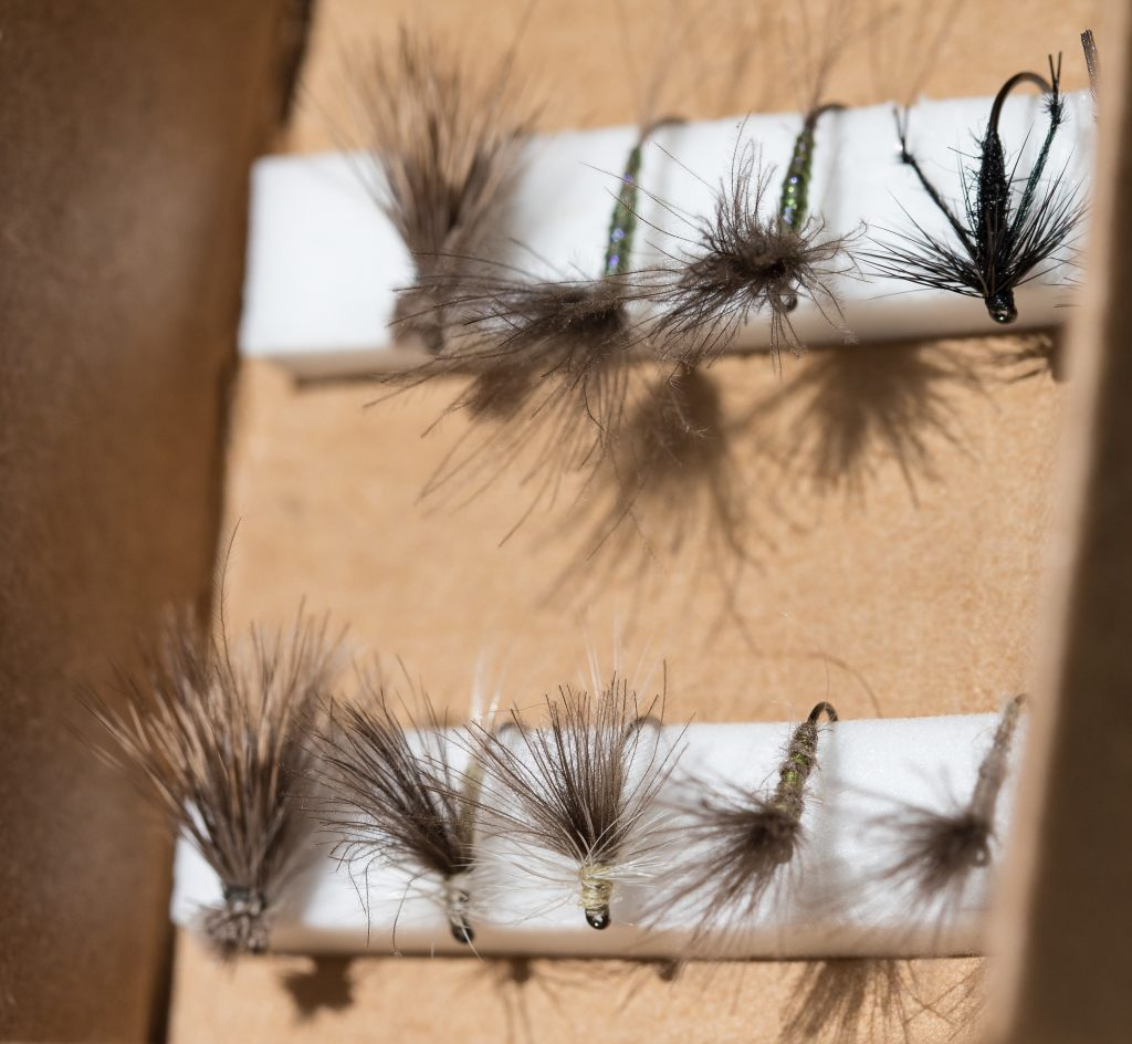 chalkstream flies, river test