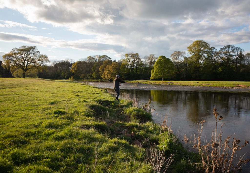 River Eden Cumbria Fly Fishing, Tufton Arms Cumbria, Cumbria Salmon Fly Fishing, Cumbria Trout Fly fishing