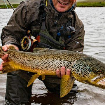 Villingavatn, Iceland, Fishpartner, Aardvark McLeod