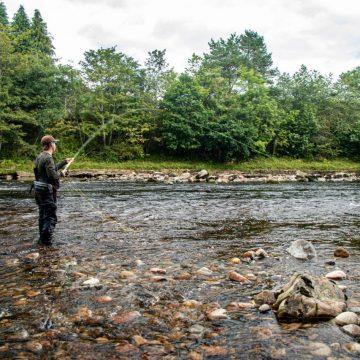 River Dee, Salmon Fly Fishing, Scotland, Little Blackhall and Inchmarlo, Aardvark McLeod